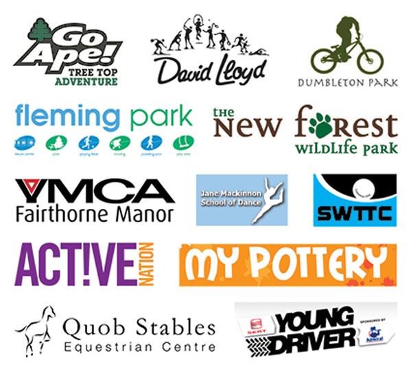 Wall of logos
