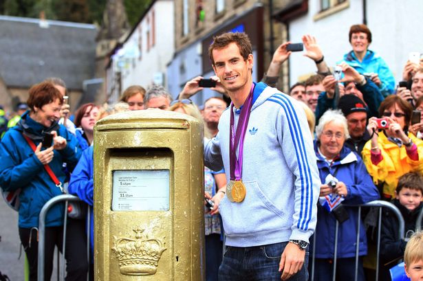 By painting post boxes gold, the Royal Mail was able to harness the feel good factor of the London 2012 Olympics