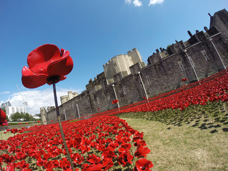 Meanwhile, the Tower of London art installation to mark the centenary of the outbreak of WW1 really caught the public imagination.