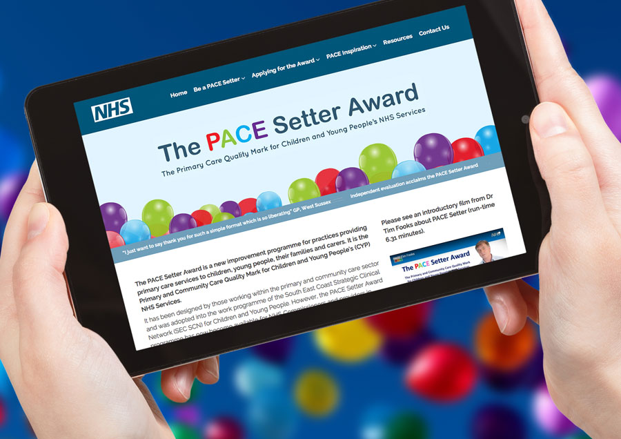 PACE Setter awards website