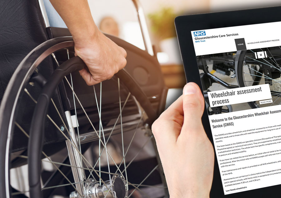 Wheelchair Service microsite
