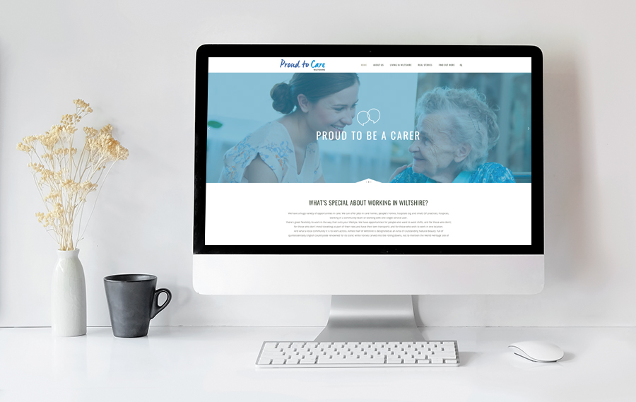 proud to care website