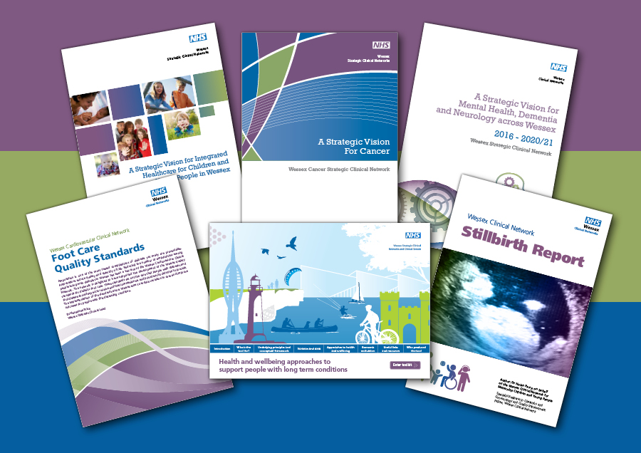 Wessex Clinical Senate Website developement Marketing materials