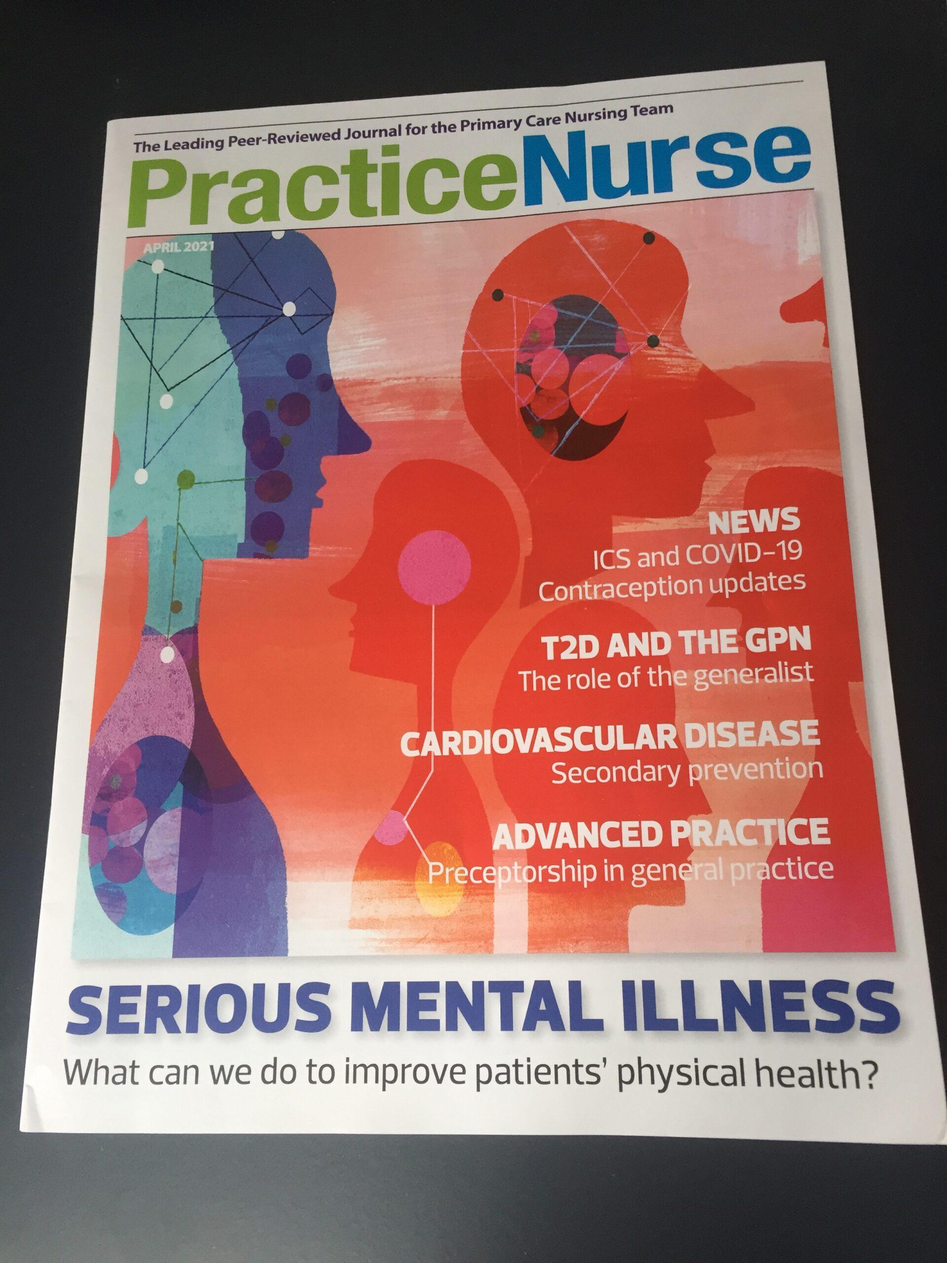 Practice Nurse front cover